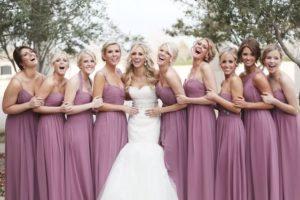 Как одеться подружке невесты