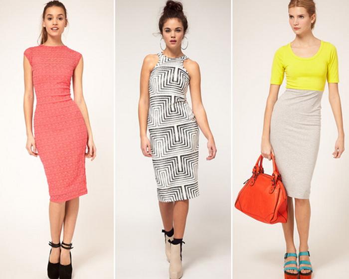 Платье-футляр – вечный тренд