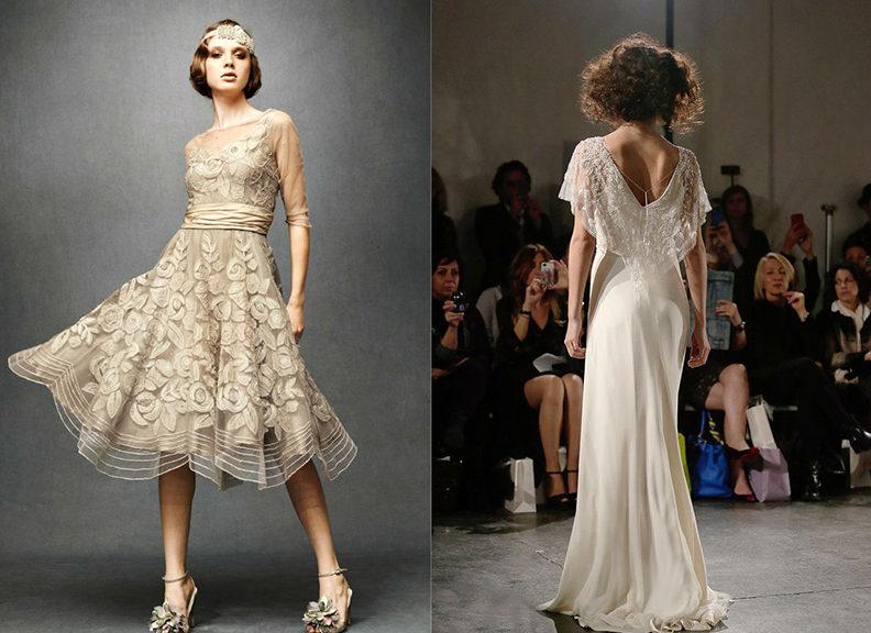Платья в стиле 30-х